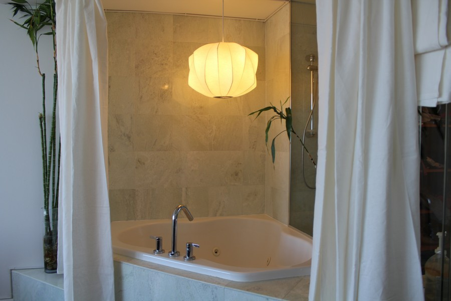 Real Estate Photography - 505 N. Lake Shore Dr., 3905, Chicago, IL, 60611 - Master Bathroom
