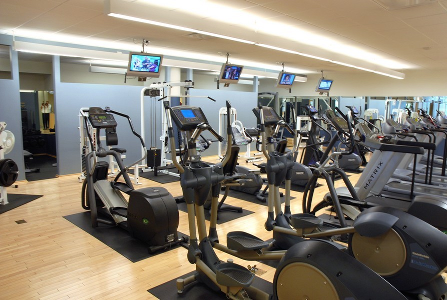 Real Estate Photography - 505 N. Lake Shore Dr., 3905, Chicago, IL, 60611 - Gym
