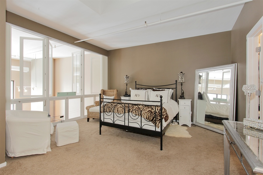 Real Estate Photography - 616 W Fulton, Unit 704, Chicago, IL, 60661 - Master Bedroom