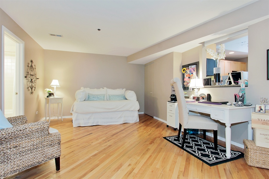 Real Estate Photography - 616 W Fulton, Unit 704, Chicago, IL, 60661 - Bedroom