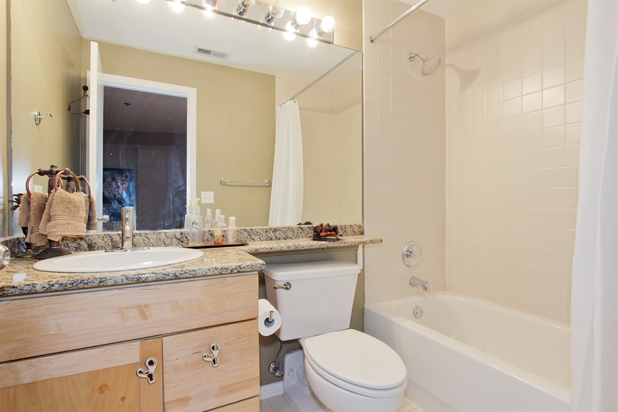 Real Estate Photography - 616 W Fulton, Unit 704, Chicago, IL, 60661 - Bathroom