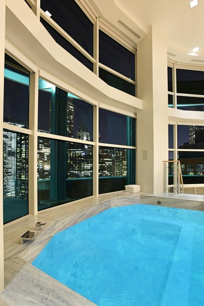 Real Estate Photography - 415 E North Water St, Unit 3205, Chicago, IL, 60611 - Hot Tub