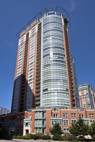 Real Estate Photography - 415 E North Water St, Unit 3205, Chicago, IL, 60611 -
