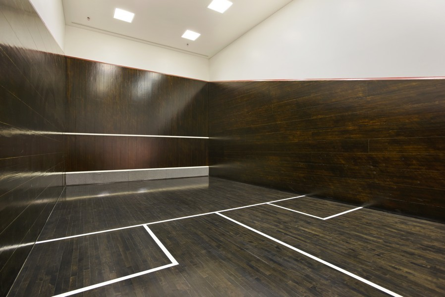 Real Estate Photography - 415 E North Water St, Unit 3205, Chicago, IL, 60611 - Squash Court