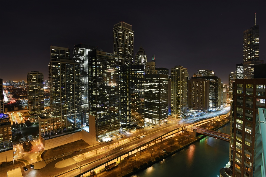 Real Estate Photography - 415 E North Water St, Unit 3205, Chicago, IL, 60611 - View