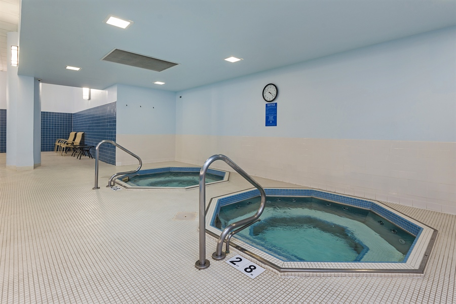 Real Estate Photography - 505 N. Lake Shore, 4512, Chicago, IL, 60611 - Pool/Spa