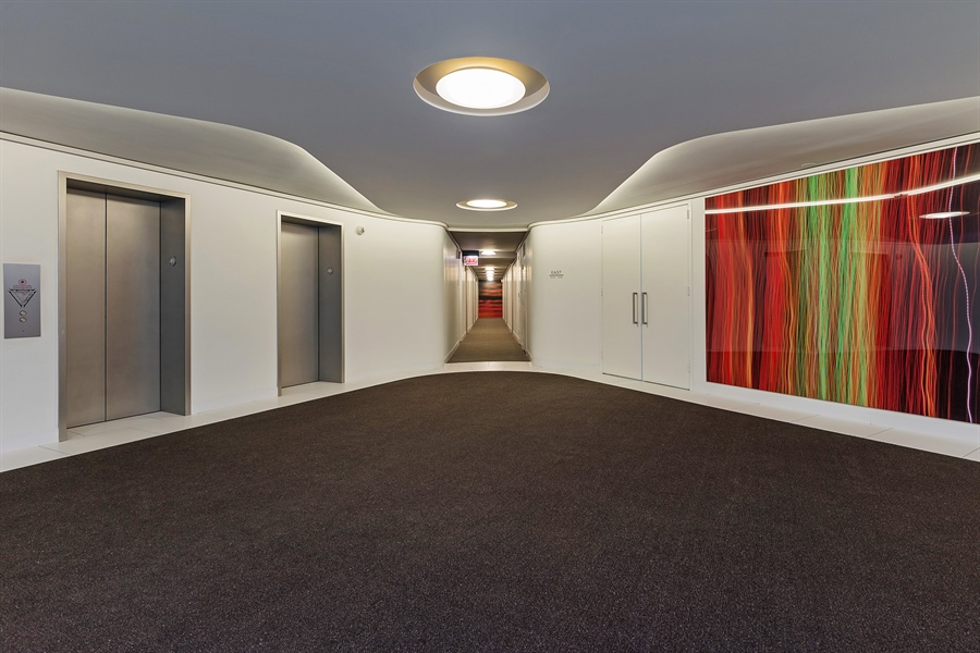 Real Estate Photography - 505 N. Lake Shore, 4512, Chicago, IL, 60611 - Building Hallway