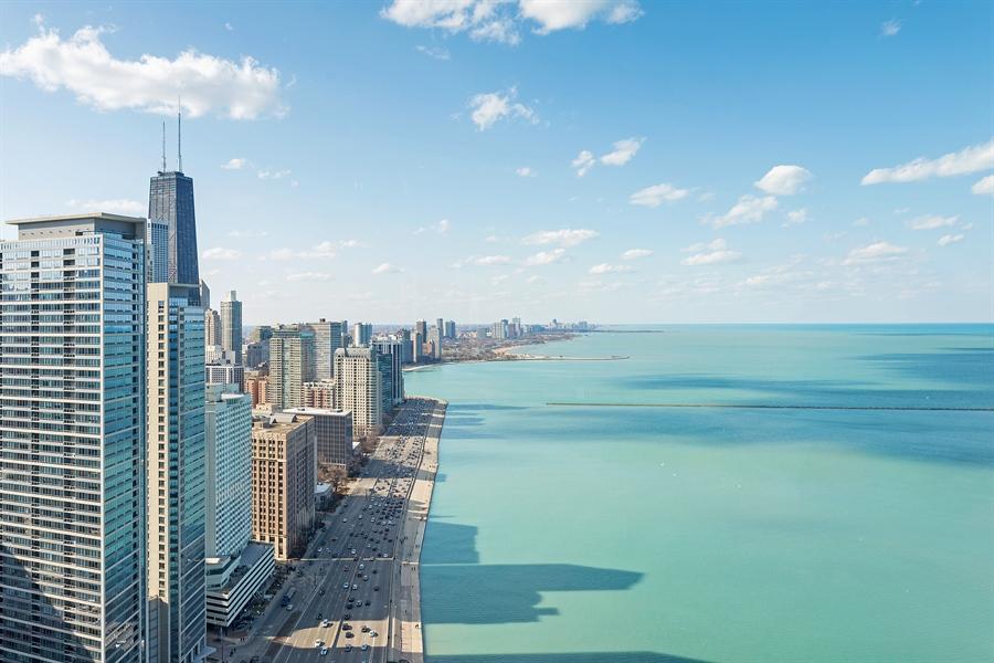 Real Estate Photography - 505 N. Lake Shore, 4512, Chicago, IL, 60611 - Lake View