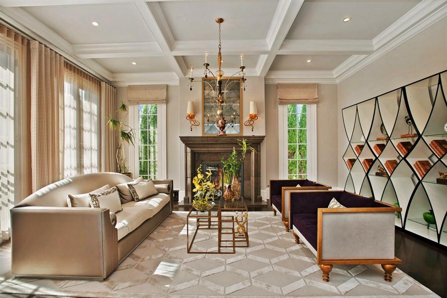 Real Estate Photography - 195 Sheridan Rd, Winnetka, IL, 60093 - Living Room