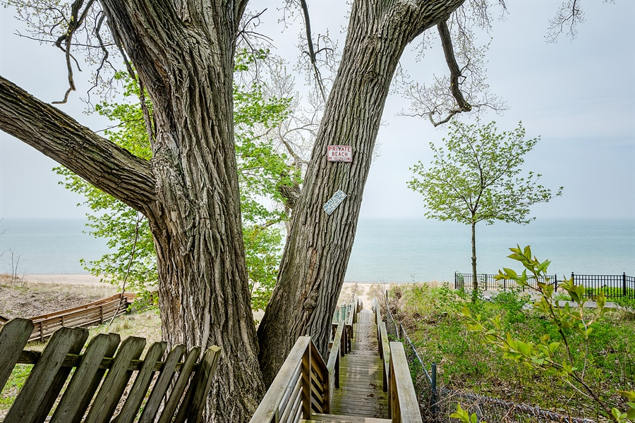 Real Estate Photography - 15657 Lake Shore Rd, #17, Union Pier, MI, 49129 - Private deeded beach access