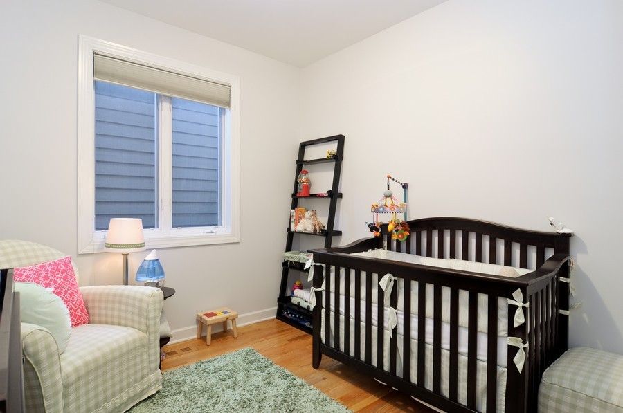 Real Estate Photography - 2419 N Clybourn, Unit 2, Chicago, IL, 60614 - Bedroom