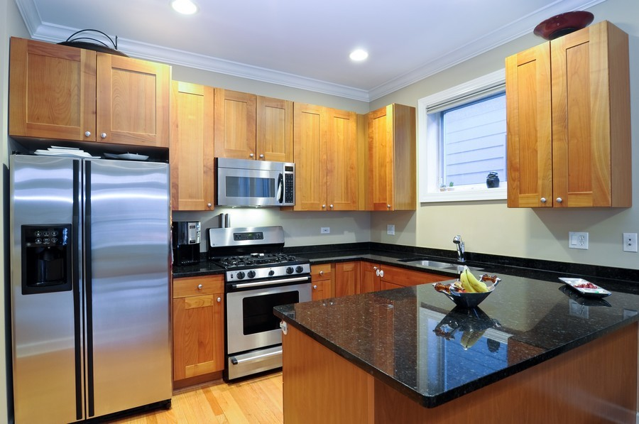 Real Estate Photography - 2419 N Clybourn, Unit 2, Chicago, IL, 60614 - Kitchen