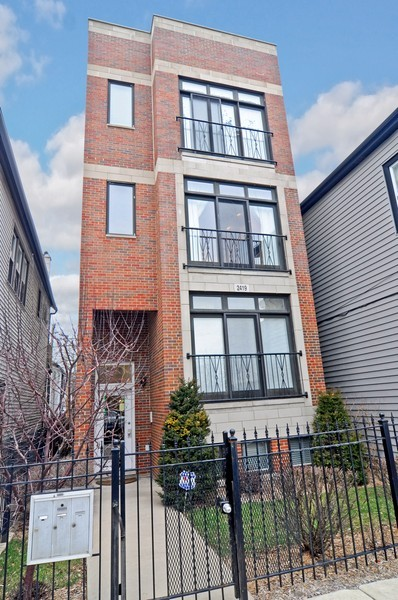Real Estate Photography - 2419 N Clybourn, Unit 2, Chicago, IL, 60614 - Front View