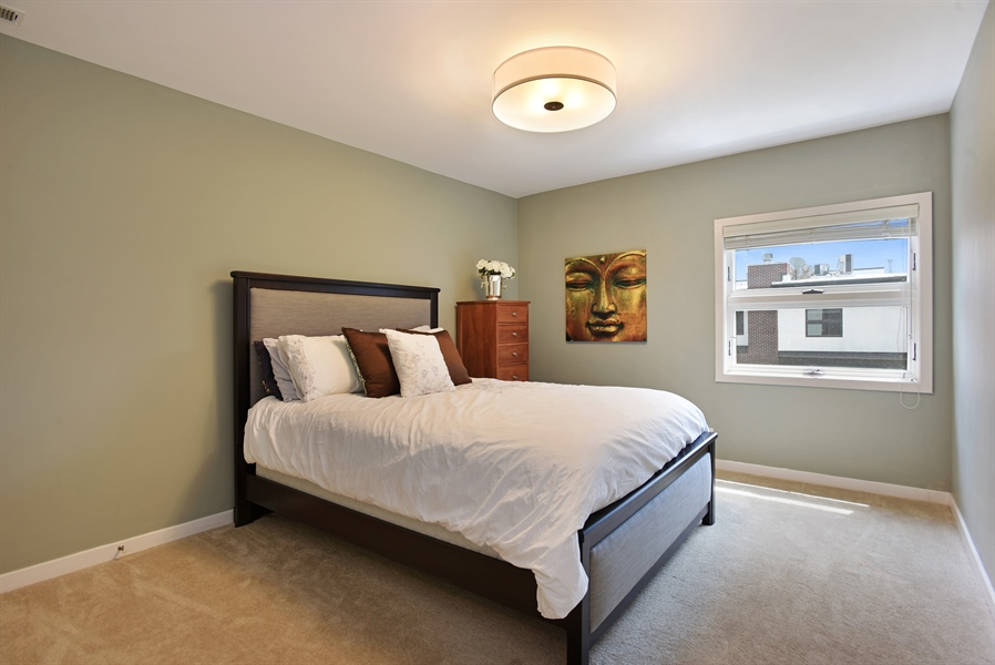 Real Estate Photography - 2325 N Bosworth Ave, Chicago, IL, 60614 - 2nd Bedroom