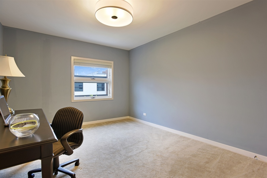 Real Estate Photography - 2325 N Bosworth Ave, Chicago, IL, 60614 - 3rd Bedroom