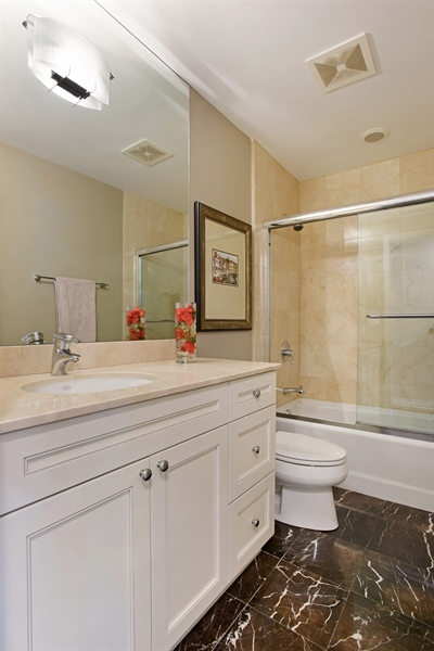 Real Estate Photography - 2325 N Bosworth Ave, Chicago, IL, 60614 - 2nd Bathroom