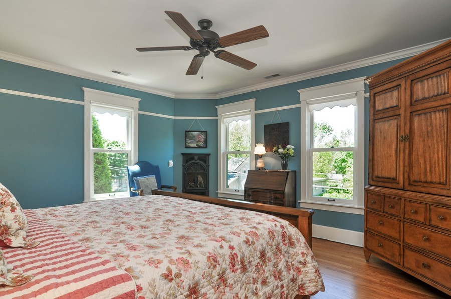 Real Estate Photography - 203 Dundee Avenue, Barrington, IL, 60010 - 2nd Bedroom