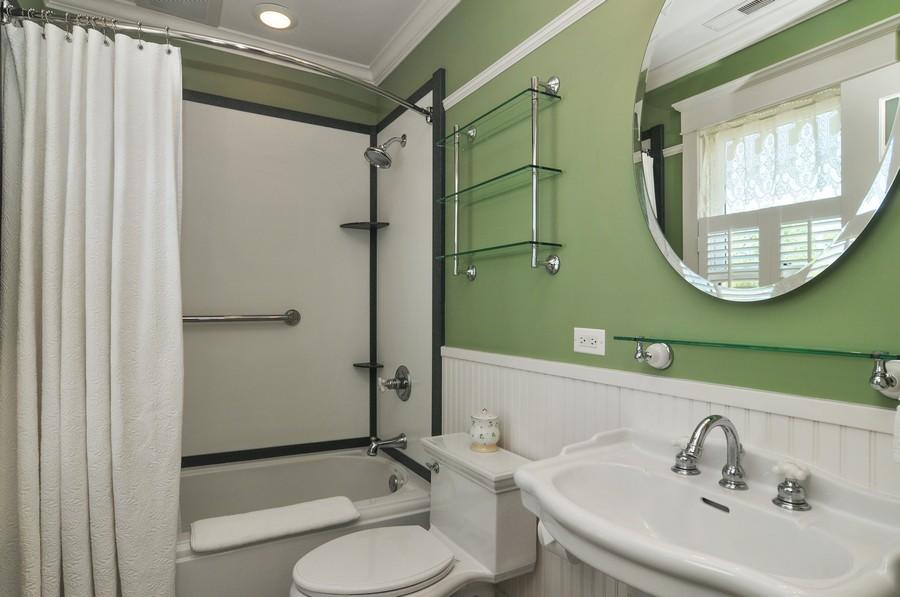 Real Estate Photography - 203 Dundee Avenue, Barrington, IL, 60010 - 3rd Bathroom
