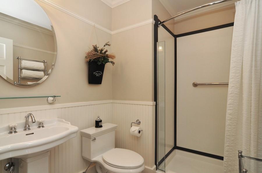 Real Estate Photography - 203 Dundee Avenue, Barrington, IL, 60010 - 4th Bathroom