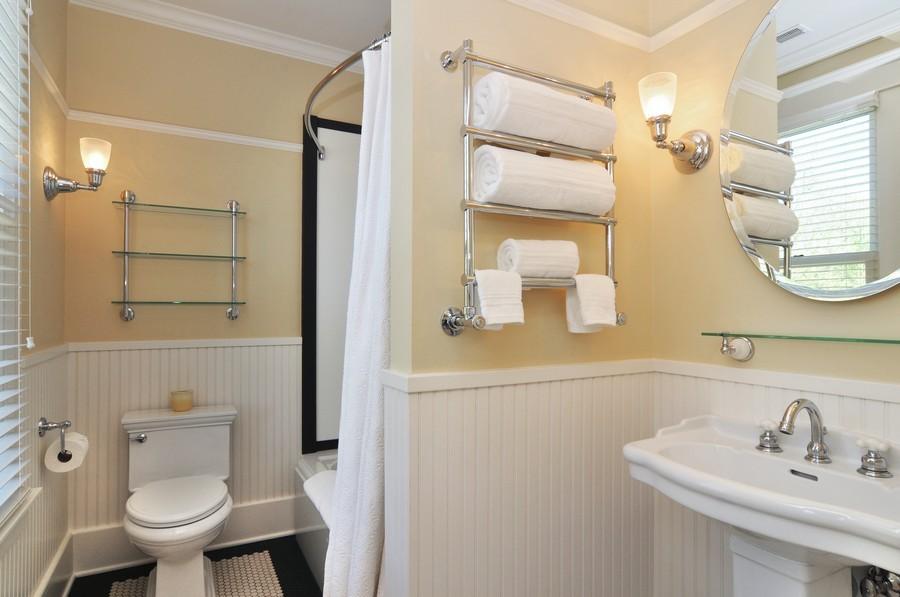 Real Estate Photography - 203 Dundee Avenue, Barrington, IL, 60010 - 5th Bathroom