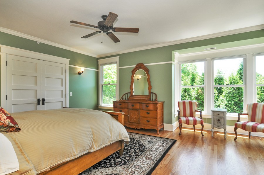 Real Estate Photography - 203 Dundee Avenue, Barrington, IL, 60010 - Master Bedroom