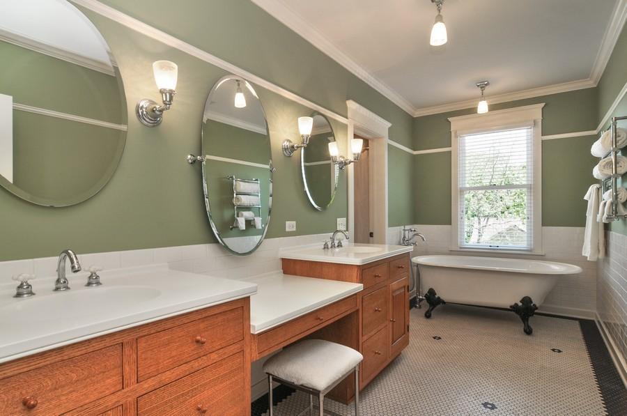 Real Estate Photography - 203 Dundee Avenue, Barrington, IL, 60010 - Master Bathroom