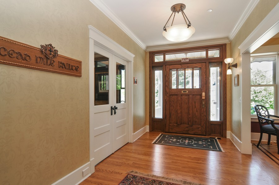 Real Estate Photography - 203 Dundee Avenue, Barrington, IL, 60010 - Foyer