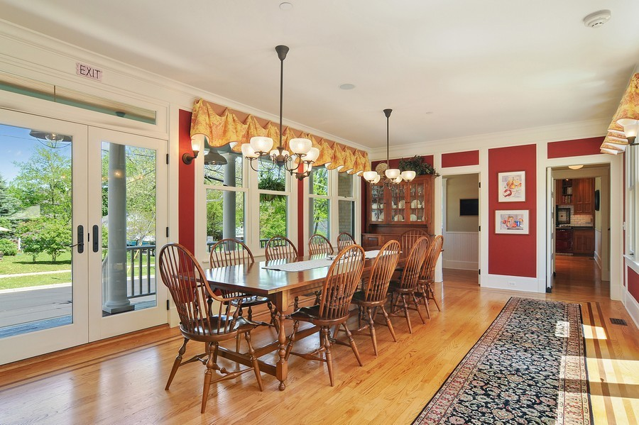 Real Estate Photography - 203 Dundee Avenue, Barrington, IL, 60010 - Dining Room