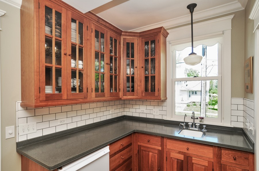 Real Estate Photography - 203 Dundee Avenue, Barrington, IL, 60010 - Butler's Pantry