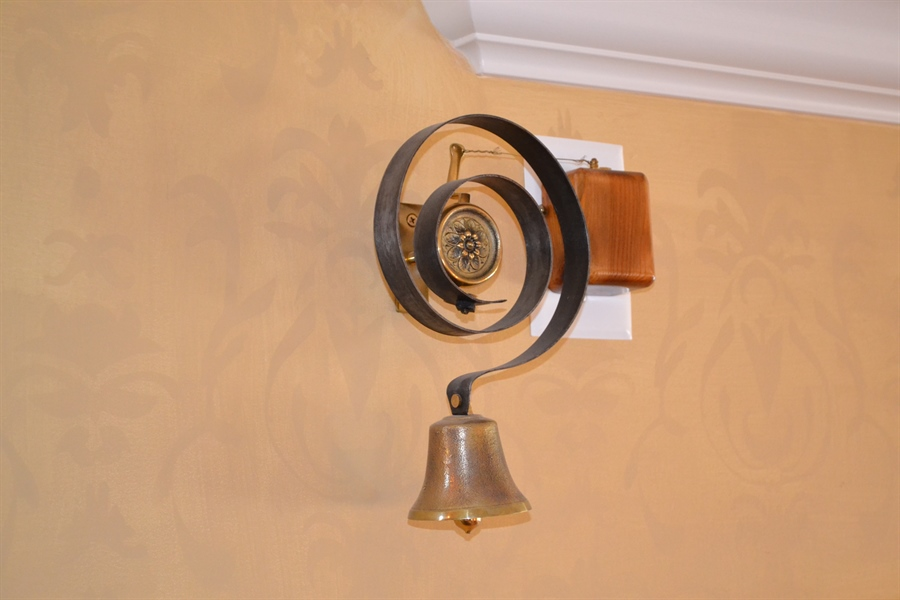 Real Estate Photography - 203 Dundee Avenue, Barrington, IL, 60010 - Imported Doorbell