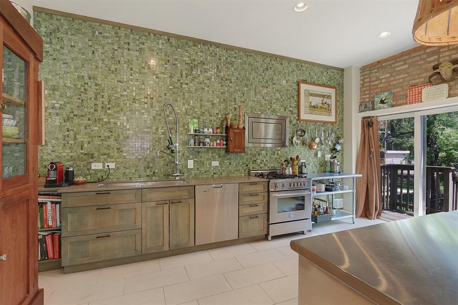 Real Estate Photography - 3030 W Cortland, Chicago, IL, 60647 - Kitchen