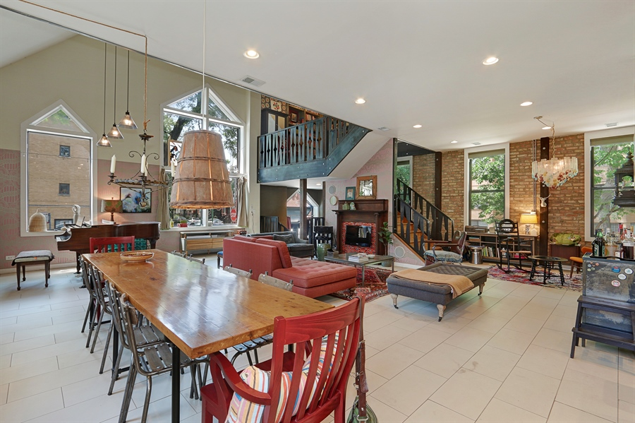 Real Estate Photography - 3030 W Cortland, Chicago, IL, 60647 - Dining Area