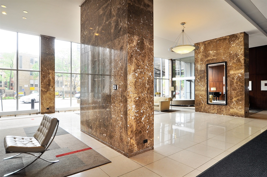 Real Estate Photography - 655 Irving Park Rd, Unit 4606, Chicago, IL, 60609 - Lobby