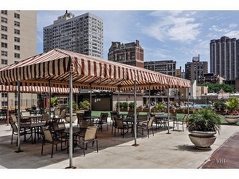 Real Estate Photography - 655 Irving Park Rd, Unit 4606, Chicago, IL, 60609 - Roof Deck