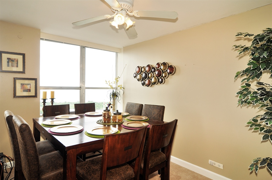 Real Estate Photography - 655 Irving Park Rd, Unit 4606, Chicago, IL, 60609 - Dining Room