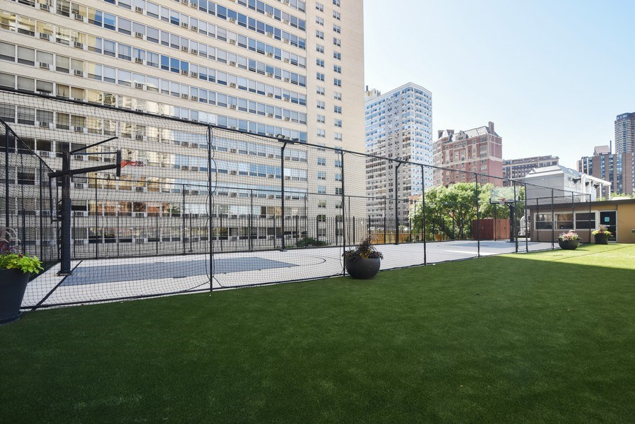 Real Estate Photography - 655 Irving Park Rd, Unit 4606, Chicago, IL, 60609 - Basketball Courts