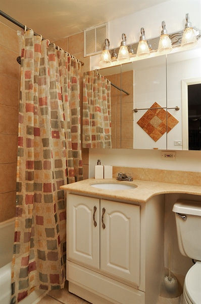 Real Estate Photography - 655 Irving Park Rd, Unit 4606, Chicago, IL, 60609 - Bathroom