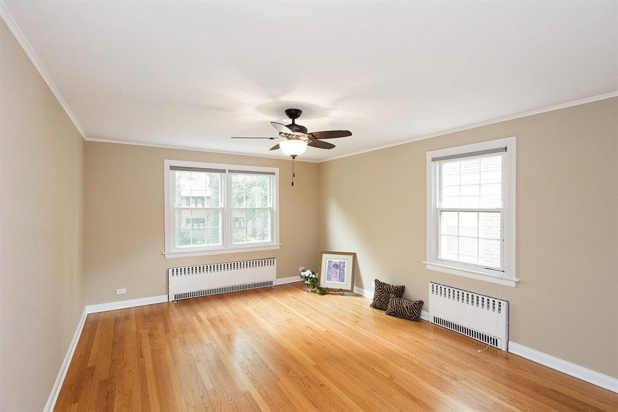 Real Estate Photography - 6626 N Sioux Ave, Chicago, IL, 60646 - 3rd Bedroom