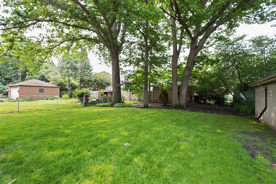 Real Estate Photography - 6626 N Sioux Ave, Chicago, IL, 60646 - Back Yard