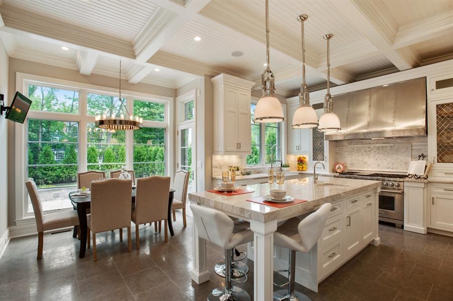 Real Estate Photography - 229 Essex Rd, Kenilworth, IL, 60043 - Kitchen / Breakfast Room
