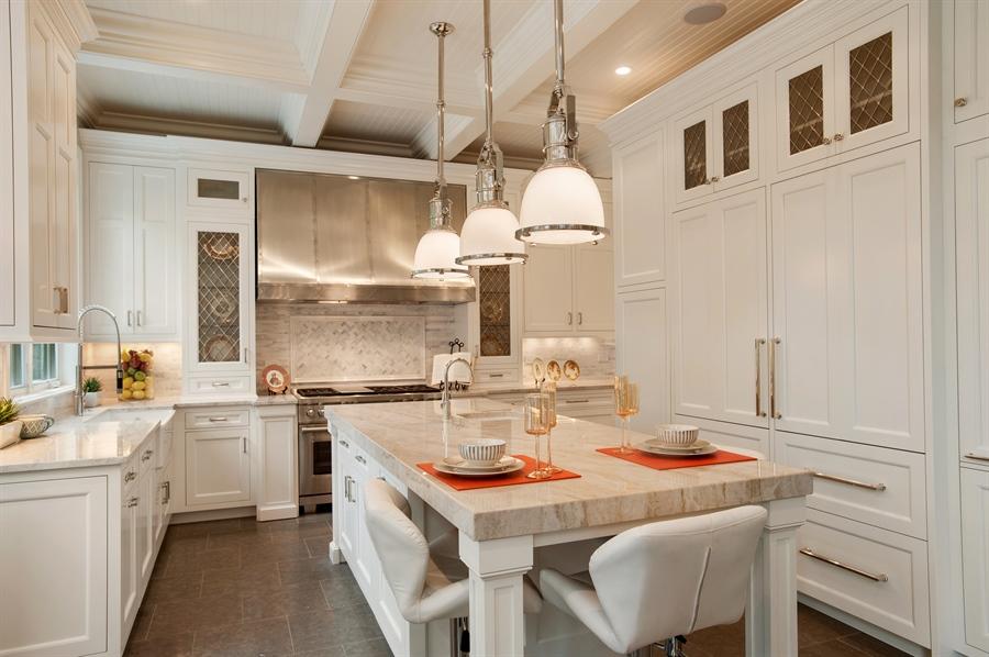 Real Estate Photography - 229 Essex Rd, Kenilworth, IL, 60043 - Kitchen