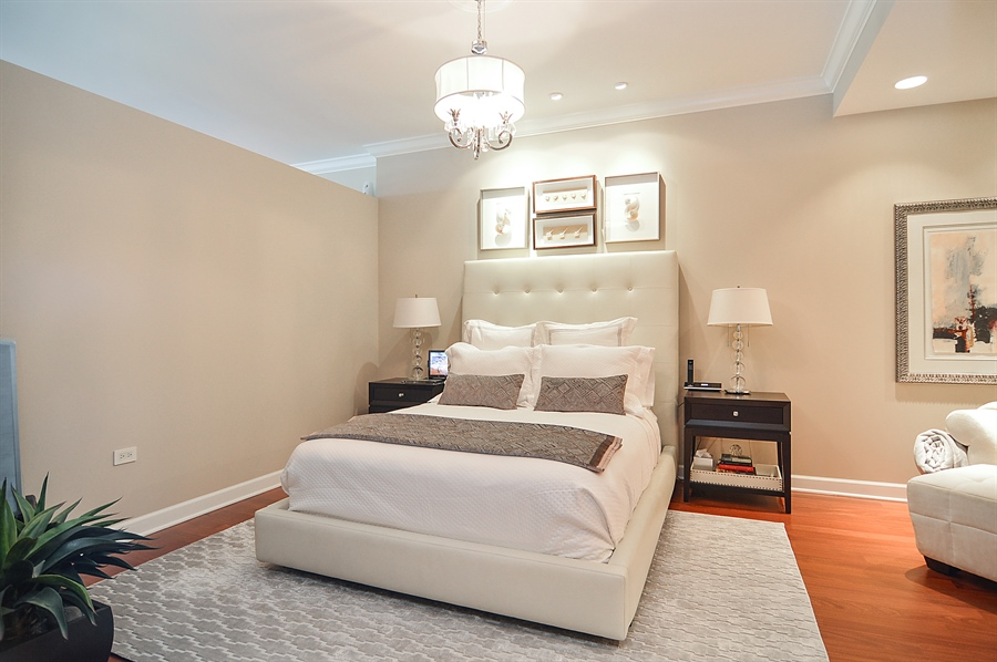 Real Estate Photography - 310 S Michigan, Unit 605, Chicago, IL, 60604 - Master Bedroom