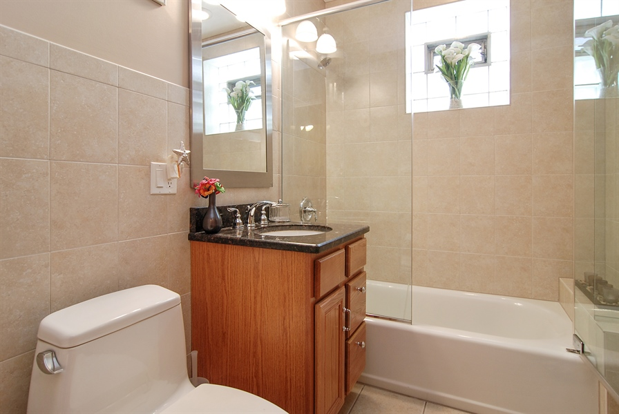 Real Estate Photography - 1609 S 61st Ave, Cicero, IL, 60804 - Bathroom