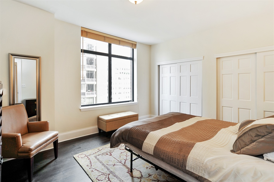 Real Estate Photography - 1122 N Dearborn, Unit 10D, Chicago, IL, 60610 - Master Bedroom