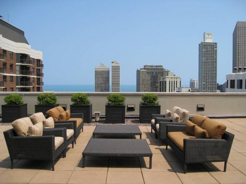 Real Estate Photography - 1122 N Dearborn, Unit 10D, Chicago, IL, 60610 -