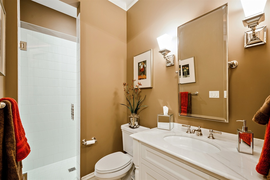 Real Estate Photography - 5750 Dunham Path, Stevensville, MI, 49127 - Bathroom 5