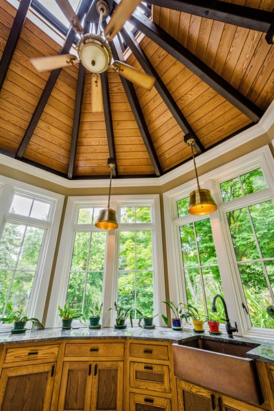 Real Estate Photography - 5750 Dunham Path, Stevensville, MI, 49127 - Conservatory