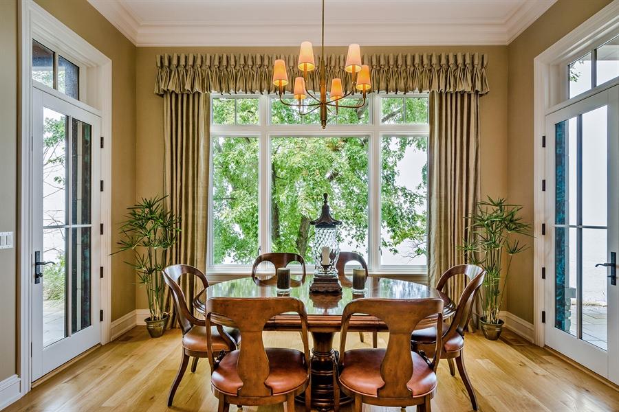 Real Estate Photography - 5750 Dunham Path, Stevensville, MI, 49127 - Breakfast Nook