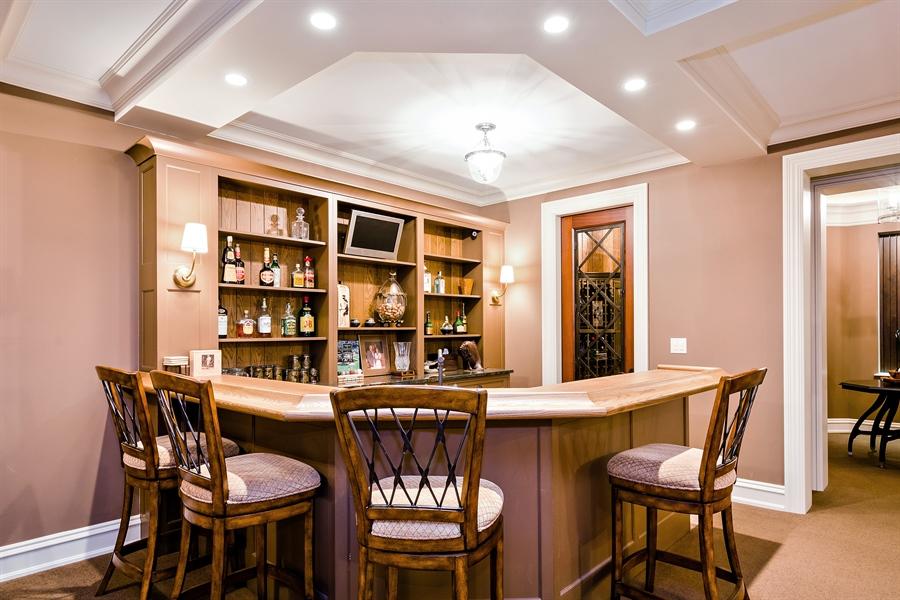 Real Estate Photography - 5750 Dunham Path, Stevensville, MI, 49127 - Bar
