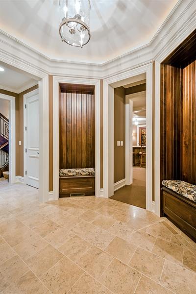 Real Estate Photography - 5750 Dunham Path, Stevensville, MI, 49127 - Lower Level Entry Foyer